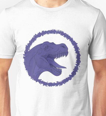 Purple T-Rex Unisex T-Shirt