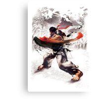 Ryu super hook - street fighter Canvas Print