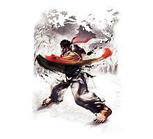 Ryu super hook - street fighter Photographic Print