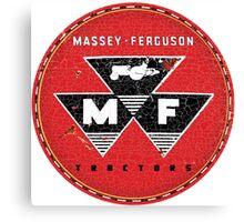 Vintage Massey Ferguson Tractors and Equipment Canvas Print