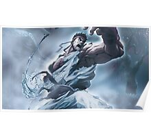 Ryu Storm style - Street Fighter Poster