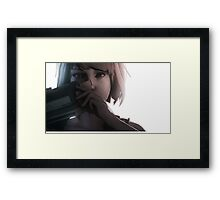 Life is strange - Max with camera Framed Print