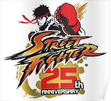 Street Fighter 25th anniversary Poster