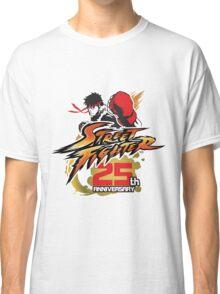 Street Fighter 25th anniversary Classic T-Shirt