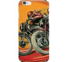 Vintage Motorcycle Racers iPhone Case/Skin