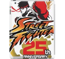 Street Fighter 25th anniversary iPad Case/Skin
