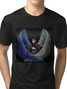 Attack on Titan Mikasa - Wings of Freedom Tri-blend T-Shirt