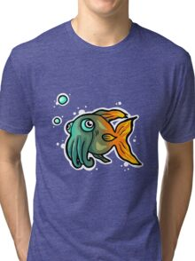 squidfish Tri-blend T-Shirt