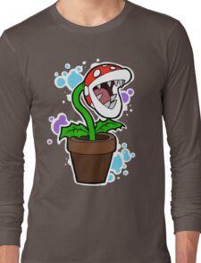 Mario Plant Long Sleeve T-Shirt