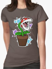 Mario Plant Womens Fitted T-Shirt