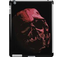 Red Vader helmet iPad Case/Skin