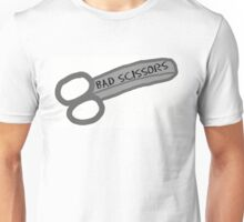 Bad Scissors Unisex T-Shirt