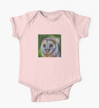 Tawny Owl In The Style of Camille One Piece - Short Sleeve