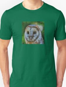 Tawny Owl In The Style of Camille T-Shirt