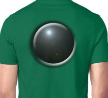 SNOOKER, BOWLS, Pot Black, Black Ball, Bowling Ball, Black Ball, Sport, on Green Unisex T-Shirt