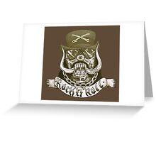 Motorhead Lemmy RIP Greeting Card