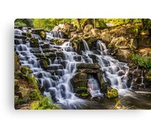 virginia water Cascade  Canvas Print