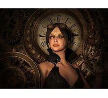 Steampunk Time Keeper Photographic Print