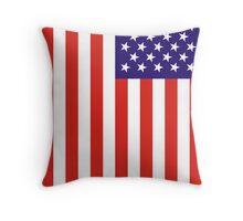 US National Flag Throw Pillow