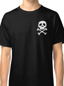 HARLOCK SYMBOL WHITE ON BLACK Classic T-Shirt