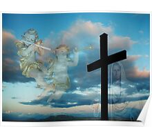 JESUS LIVES >ALL SIGNS POINT TO HIS SOON RETURN > VARIOUS APPAREL Poster