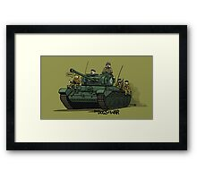 The Dogs of War: Comet Framed Print