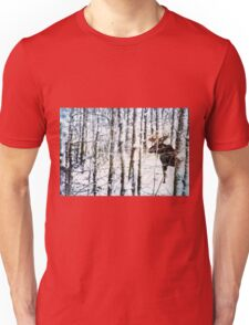 Painted Moose Unisex T-Shirt