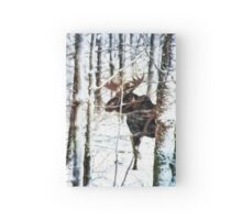 Painted Moose Hardcover Journal