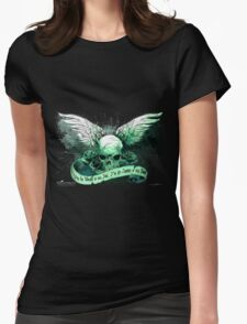 The Skull of Fate Womens Fitted T-Shirt