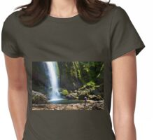 Visiting The Chorros De Giron - Ecuador Womens Fitted T-Shirt