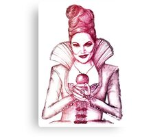 The Evil Queen Canvas Print