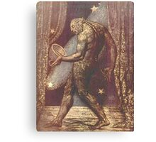 BLAKE, William Blake, The Ghost of a Flea, English poet, painter, printmaker Canvas Print