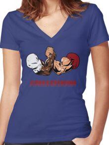 Armageddon Women's Fitted V-Neck T-Shirt