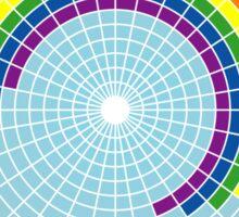 Rainbow Web Wheel Sticker