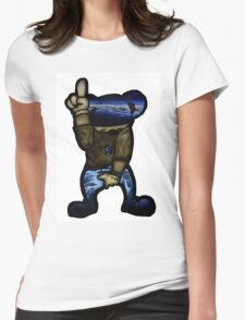 one up Womens Fitted T-Shirt