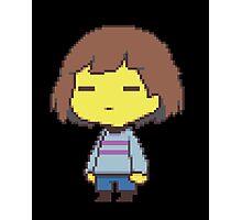 Undertale Main Character Photographic Print