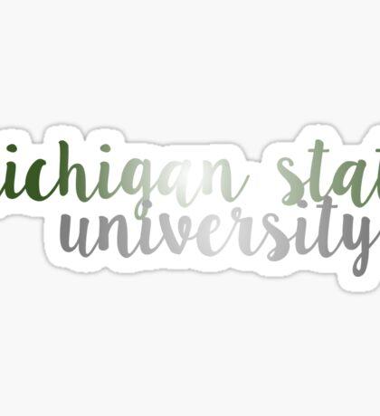 Michigan State University - MSU Sticker