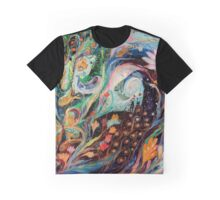 The Flowers and Sea Graphic T-Shirt