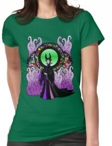 """All Hail Maleficent!"" Womens Fitted T-Shirt"