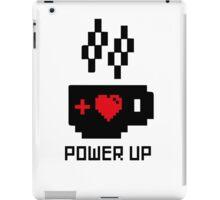 Coffee Power Up - 8 Bit iPad Case/Skin