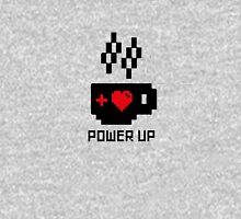 Coffee Power Up - 8 Bit Unisex T-Shirt