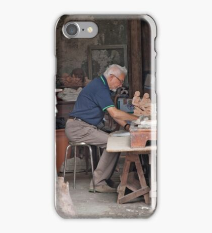 Working The Clay iPhone Case/Skin
