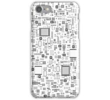 All Tech Line iPhone Case/Skin