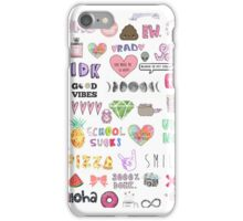 Colorful Tumblr Art iPhone Case/Skin