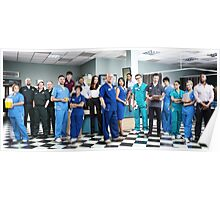 Casualty Cast 2014  Poster