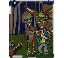 surrounded by zombies  iPad Case/Skin