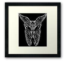Shard Helm [ WHITE ] Framed Print