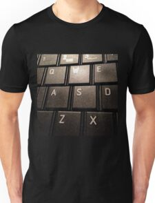 keyboard. Unisex T-Shirt