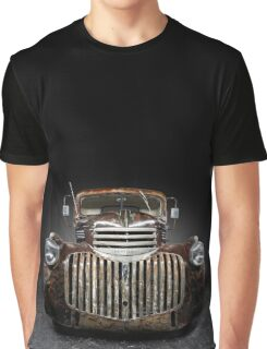 1946 Chevrolet Pickup Rat Rod Graphic T-Shirt