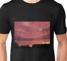 Campsite Sunset Unisex T-Shirt